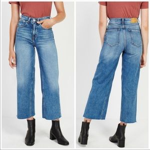 Frank and Oak Nina Wide Leg Jeans